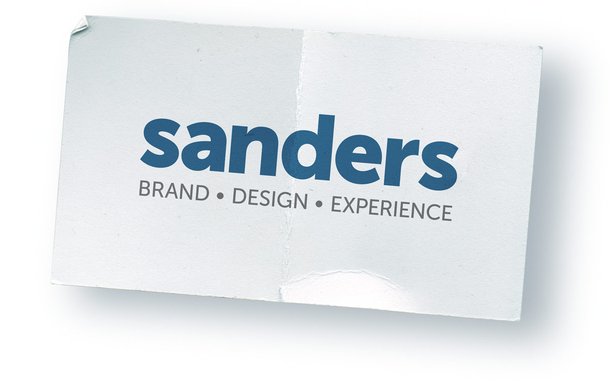 Sanders Brand Business Card